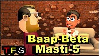 Father Son Jokes in Hindi - 5 | The Funtastic Show | Funny Jokes in Hindi | TFS
