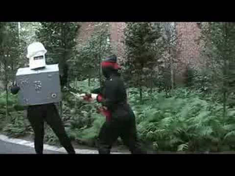 Interactive Battle Ninja vs Robot R2