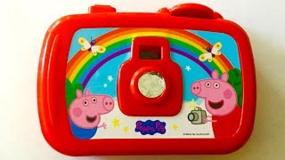 Peppa Pig Kids Camera Surprise