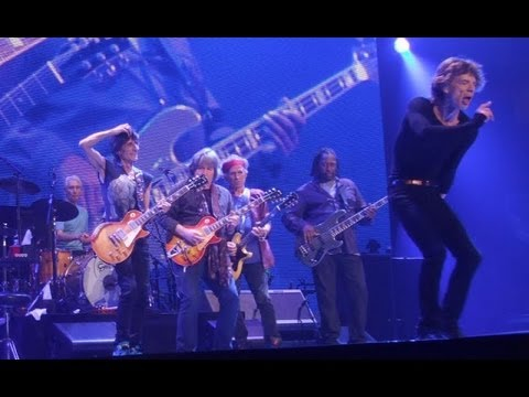 The Rolling Stones - Satisfaction with Mick Taylor at San Jose  08/05/2013