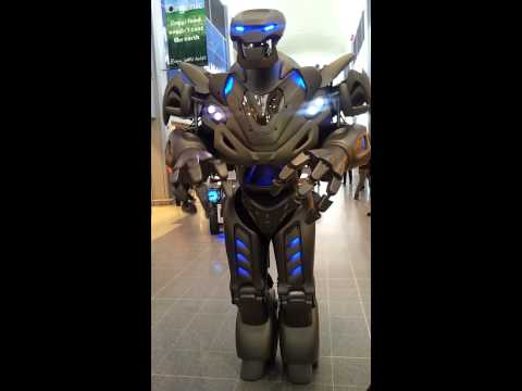 Titan The Robot @tesco Ricoh Arena coventry