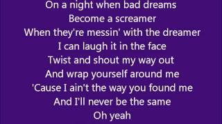 Glee - I can't Go for That/You make my dreams come true - Lyrics