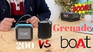 Boat Stone 200 vs Boat Stone Grenade ULTIMATE COMPARISON [with SOUND TEST]