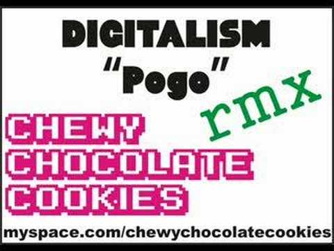 "DIGITALISM ""Pogo"" CHEWY CHOCOLATE COOKIES Rmx"