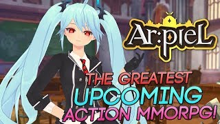 Arpiel Online - Check Out One Of The Best Looking Action Anime MMORPGs!