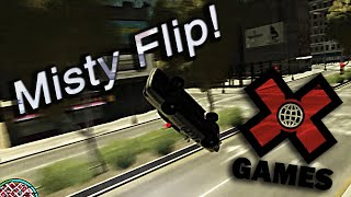 Misty Flipping Cop Car | GTA 4 funny moments with friends