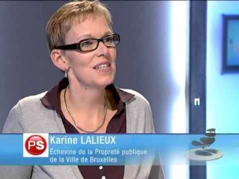 """Tag et graffiti: incivilité et art? ( Karine Lalieux """"le débat"""" 29/03/11 télébruxelles)"""