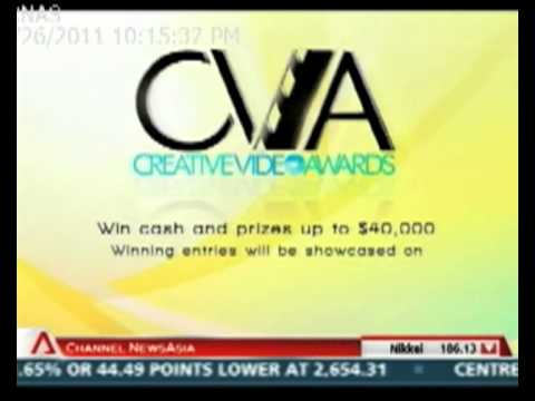 3rd CVA Launch on Channel News Asia (26 Sep 2011- Singapore Tonight)