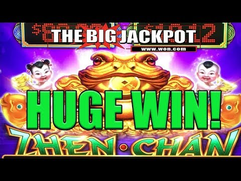 DOUBLE BIG WIN$ HUGE ZHEN CHAN JACKPOTS | The Big Jackpot