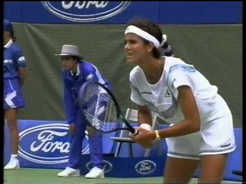 Gabriela Sabatini v Mary Joe Fernandez Australian Open 1992 pt2