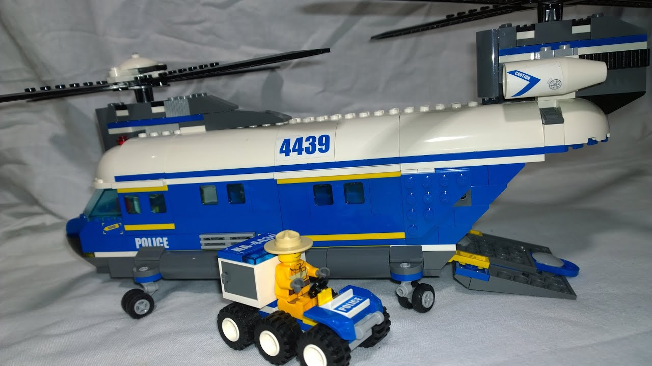 lego city police helicopter with Watch on Red Cargo Train 3677 moreover Police Headquarters Lego Set 7744 1 Nisb as well Lego 7743 likewise Lego Volcano Supply Helicopter Set 60123 besides Watch.