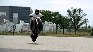 Slow Motion Motorcycle Thricks