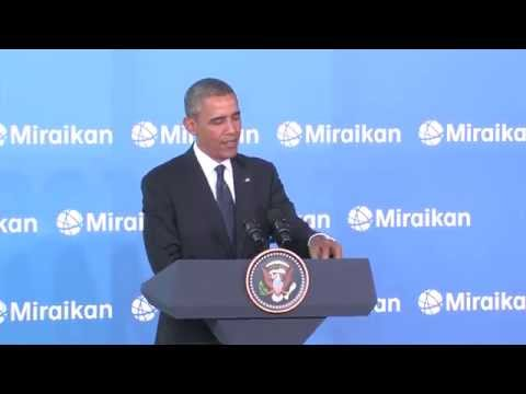 President Obama's Remarks at the Miraikan Science Expo, April 24, 2014