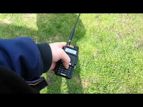 SO-50 Satellite with Baofeng UV-5R April 23 2013