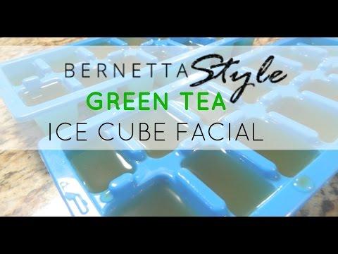 Ask Bernetta! Green Tea Ice Cube Facial & Benefits (below)
