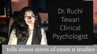 Psychological assistance for stress of exam n studies