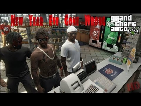 GTA 5| New Year Eve Gone Wrong [HD]