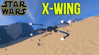 Space Engineers - Star Wars X-WING!