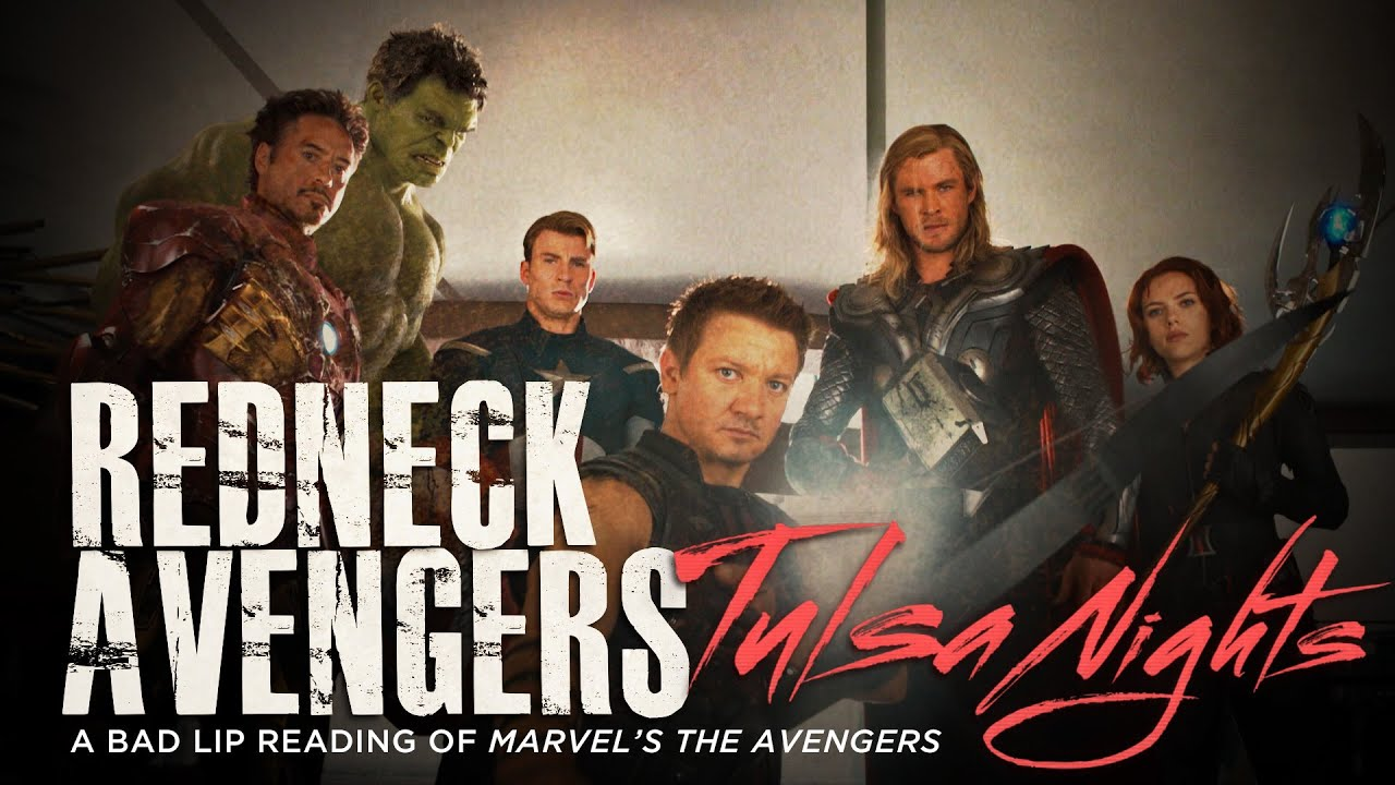 Bad Lip Reading Presents: The Redneck Avengers