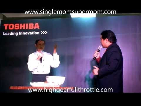 Toshiba Philippines with Gabe Mercado
