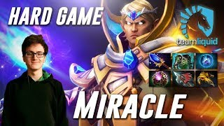 Miracle Hard Game Invoker (feat MagE-) - Dota 2 Pro MMR Gameplay