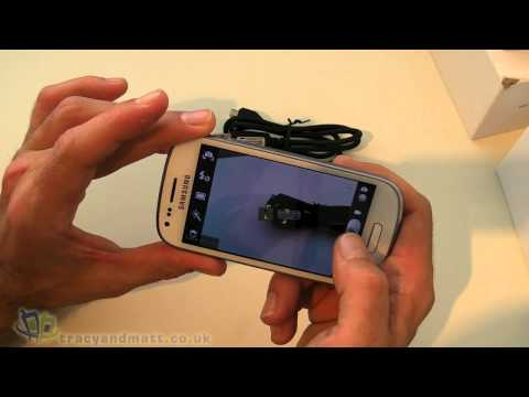 Samsung Galaxy S3 Mini unboxing and first impressions