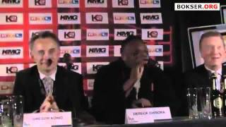 Derek Chisora Attacks David Haye. flv