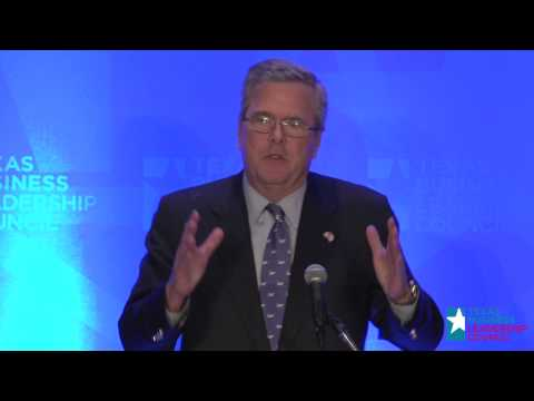 Governor Jeb Bush on Education