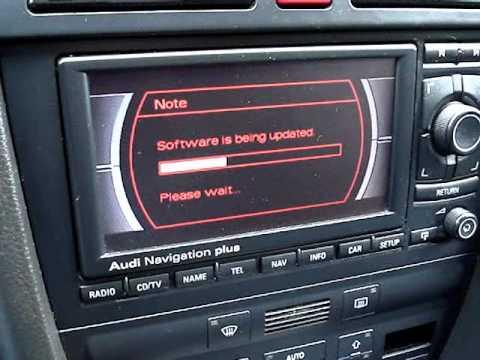 Radio - RNS-E - Audi Navigation plus - Polskie menu - 2013 - Audi A6 C5