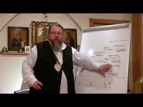 07.02.14. Part IV: Link between Judaism and Christianity, by Metropolitan Jonah (Paffhausen)