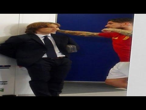 Sergio Ramos & Luka Modric Hablaron en el vestuario | Croacia 2-1 España | EURO 2016