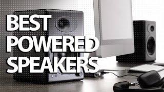 Best Powered Speakers 2019