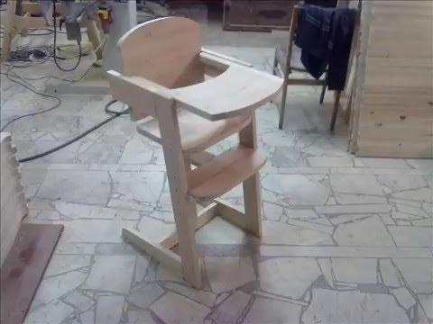 Как сделать стул для кормления своими руками видео