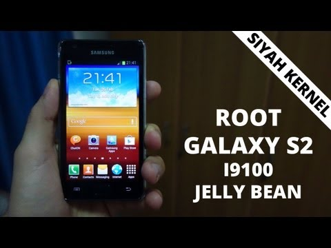 How to Root Samsung Galaxy S2 (i9100) Jelly Bean 4.1.2 with Siyah Kernel
