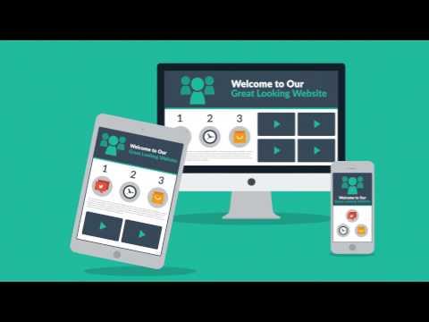Explainer video animation for websites