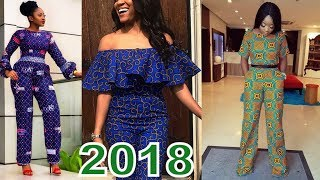 Collection #Ankara Jumpsuit 2018 : Check New Look You Will Love Them