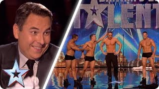 These dancers make David blush! | Britain