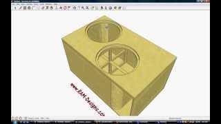 ram designs fi btl n2 18 ported sub box design