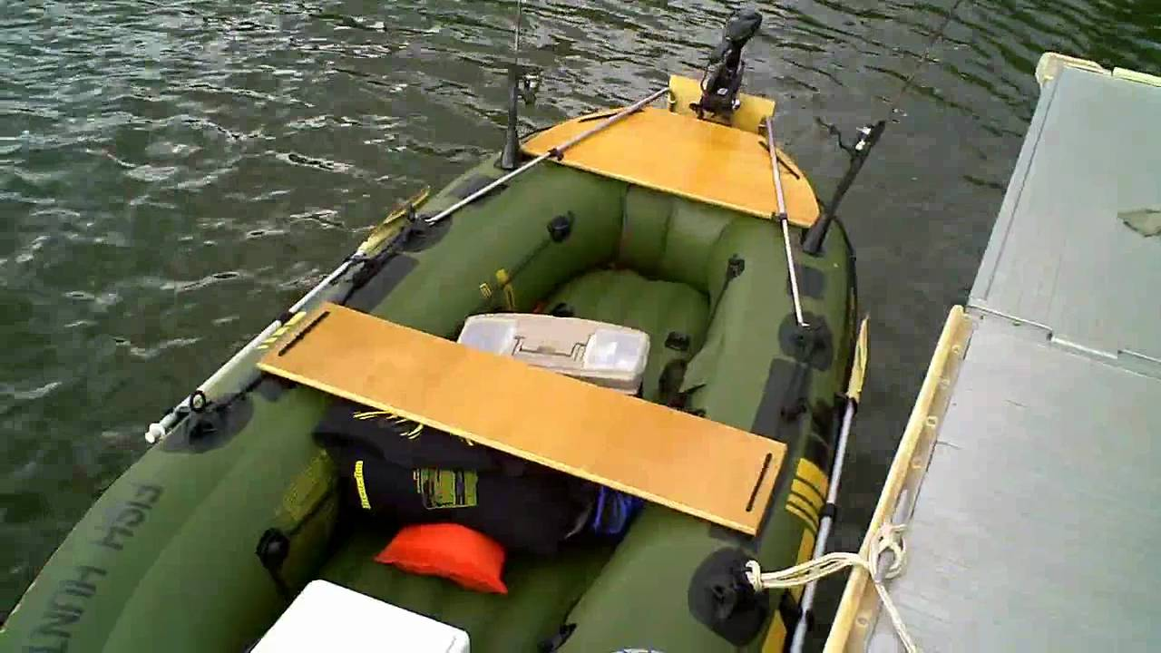 Sevylor Fish Hunter 360 Customized Inflatable Boat