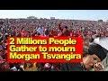 Tsvangirai Funeral Updates, 2 Million Gather to mourn, Watch Video, Zim Latest Breaking News Today MP3