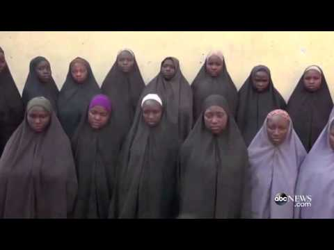 Girls Kidnapped By Boko Haram; New Video Appears To Show Schoolgirls