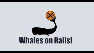 WHALES ON RAILS!   TRAIN HORN MADE FOR UNDERWATER!
