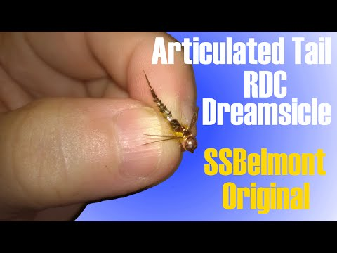 Fly Tying Articulated Rdc Dreamsicle Catches Fish Nymph Pheasant Tail