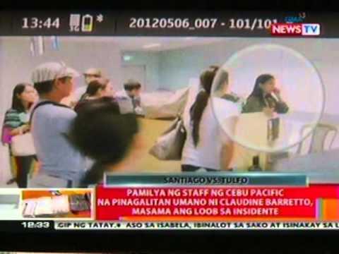 Pamilya Ng Cebu Pacific Staff Na Pinagalitan Umano Ni Claudine, Masama Ang Loob Sa Insidente video