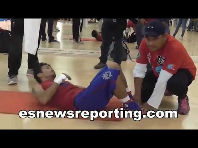 Mayweather vs Pacquiao Manny Fighting For The Philippines - esnews boxing