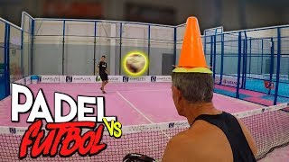 FÚTBOL vs PADEL | TRUCOS INCREÍBLES (TRICK SHOTS) [Jeyx]