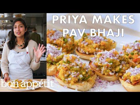 Priya Makes Pav Bhaji | From the Test Kitchen | Bon Appétit
