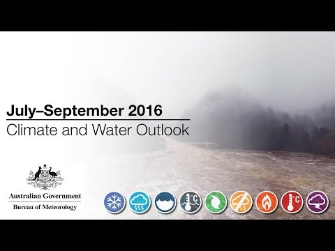 Climate and Water Outlook, July–September 2016