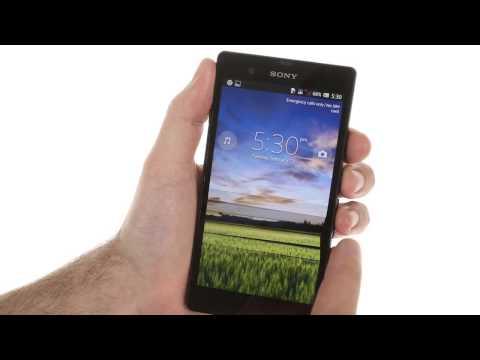 Sony Xperia Z user interface demo