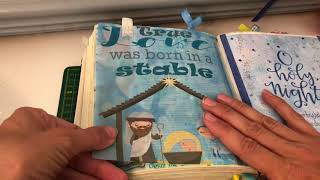 Using tracing paper for bible journaling tip-ins